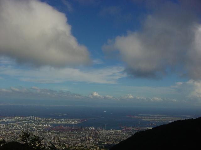 神戸の青空